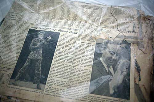 June 1969 newspaper found in the remains of the World Trade Center